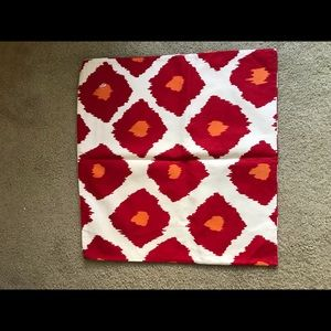 3 Pottery Barn pillow covers NWOT-Red & Orange